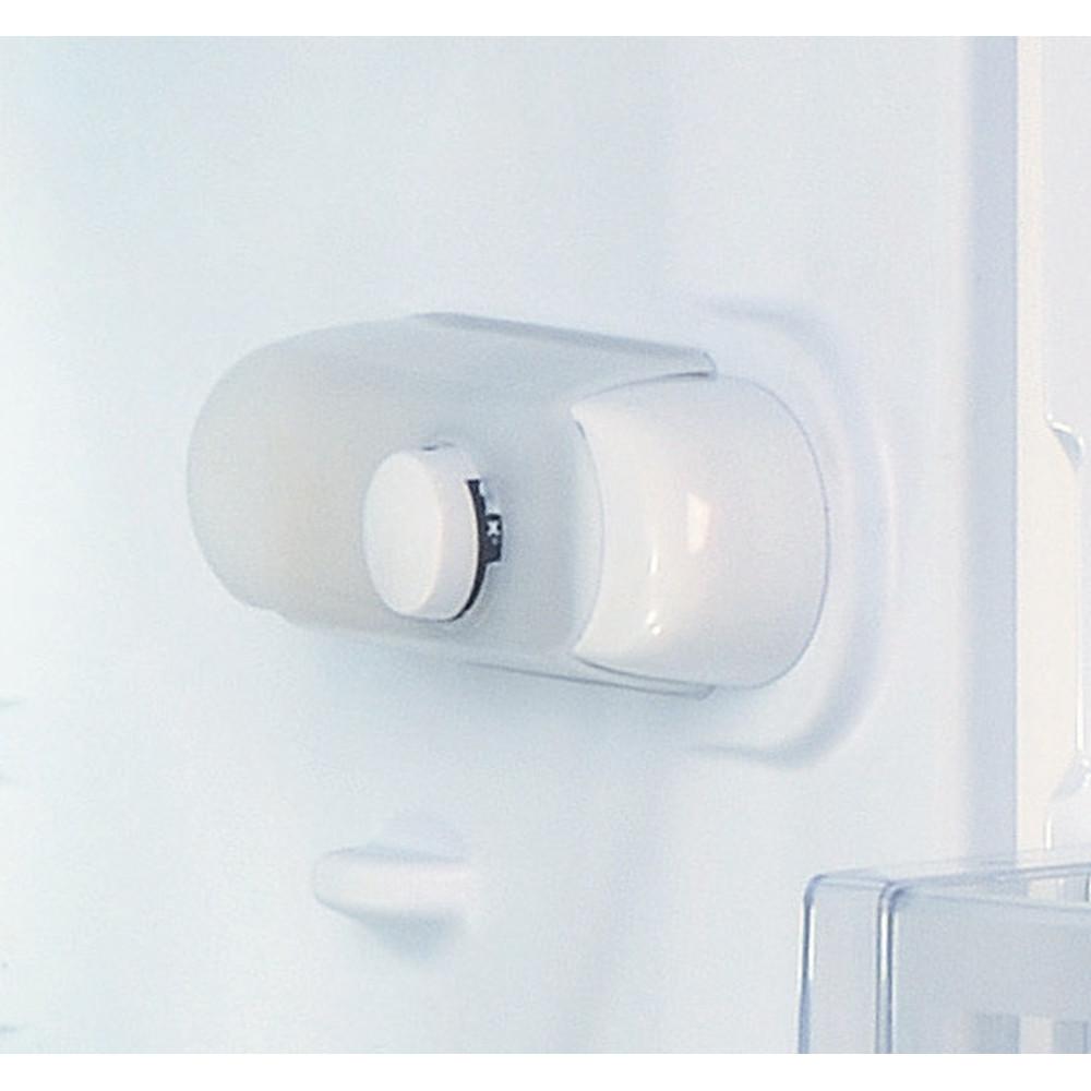 Indesit Refrigerator Free-standing SI4 1 W UK 1 Global white Control panel