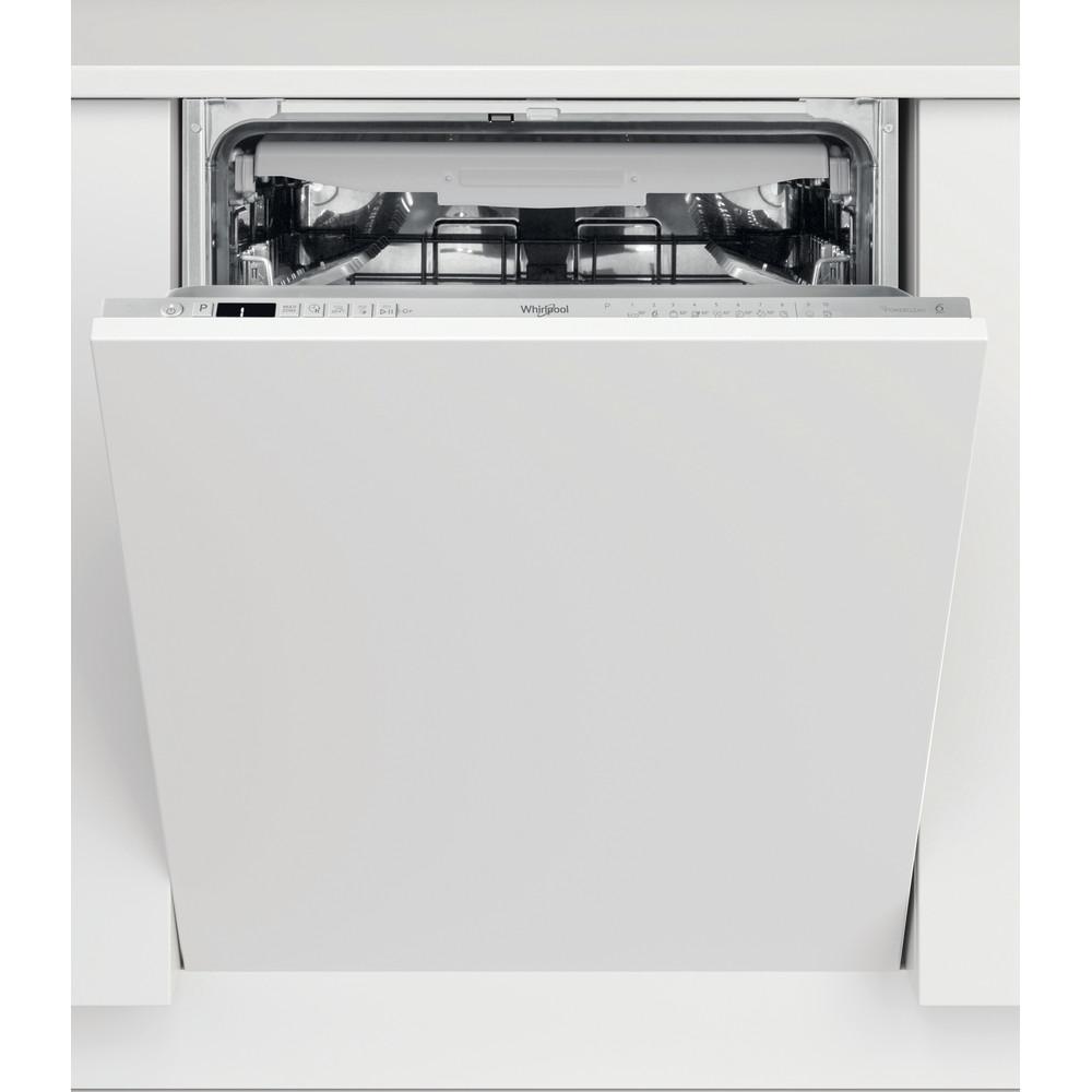 Whirlpool integrert oppvaskmaskin: farge stål, 60 cm - WIO 3T133 PFE