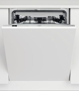 Integreret Whirlpool-opvaskemaskine: inox-farve, fuld størrelse - WIO 3T133 PFE