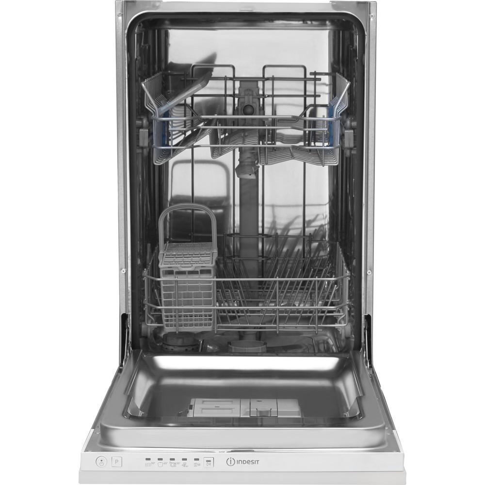 Indesit Mašina za pranje posuđa ugradbeni DSIE 2B10 A scomparsa totale A+ Frontal open