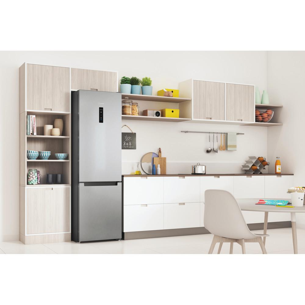 Indesit Холодильник с морозильной камерой Отдельностоящий ITS 5180 X Inox 2 doors Lifestyle perspective