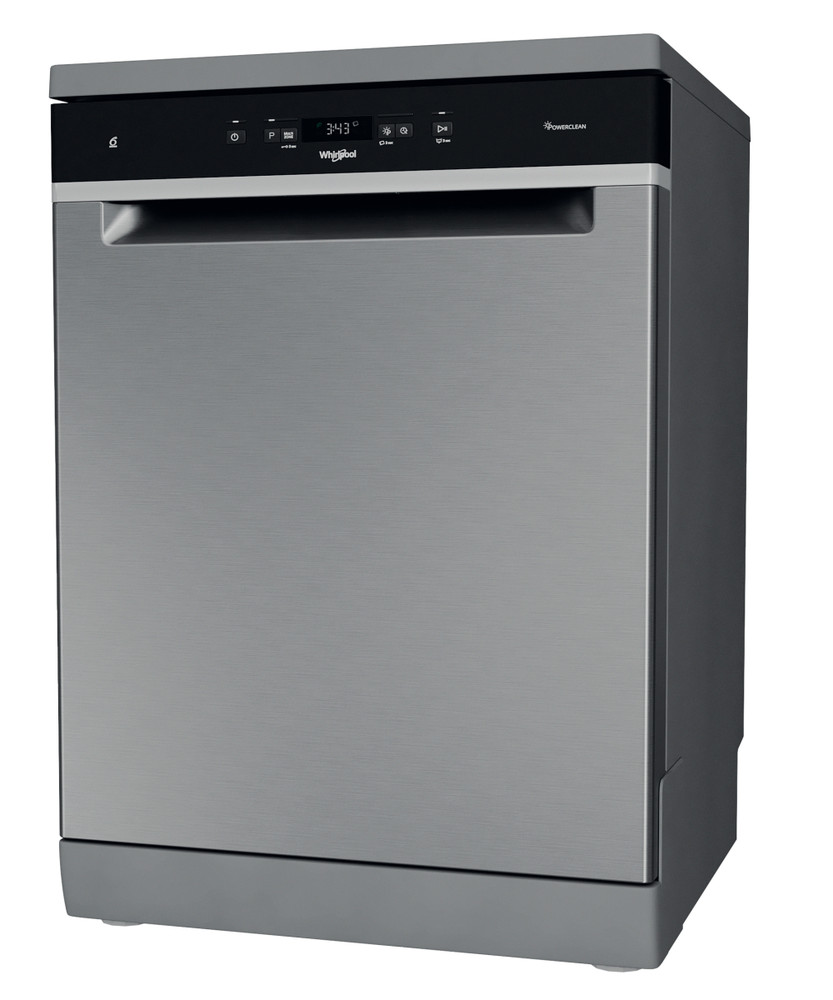 Whirlpool Dishwasher Free-standing WFC 3C33 PF X UK Free-standing D Perspective