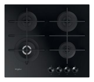 Whirlpool gas hob: 4 gas burners - GOWL 628/NB