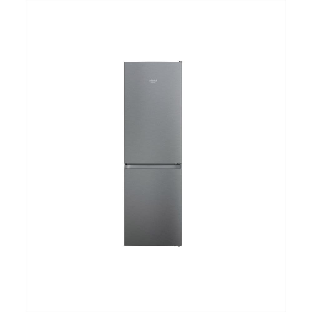 Hotpoint_Ariston Combinație frigider-congelator Neincorporabil HAFC8 TI21SX Saturn Steel 2 doors Frontal