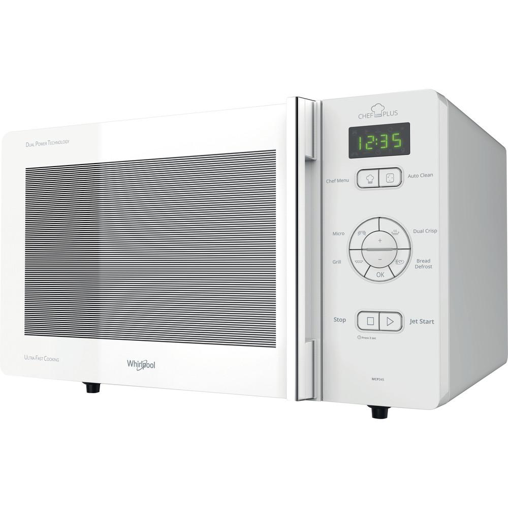 Horno microondas de libre instalación Whirlpool: color blanco - MCP 345 WH