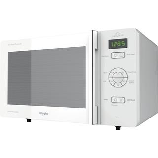 Whirlpool Micro-ondas Independente com possibilidade de integrar MCP 345 WH Branco Electrónicos 25 Microondas+Função Grill 800 Perspective
