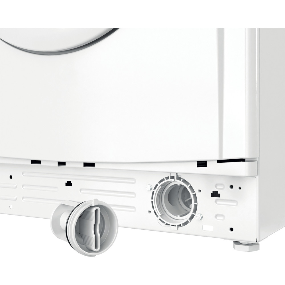 """""""Indesit"""" Skalbimo mašina Laisvai pastatoma EWUD 41051 W EU N Balta Pakraunama iš priekio F Filter"""