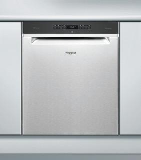 Whirlpool-opvaskemaskine: inox-farve, fuld størrelse - WUO 3O33 DTL X