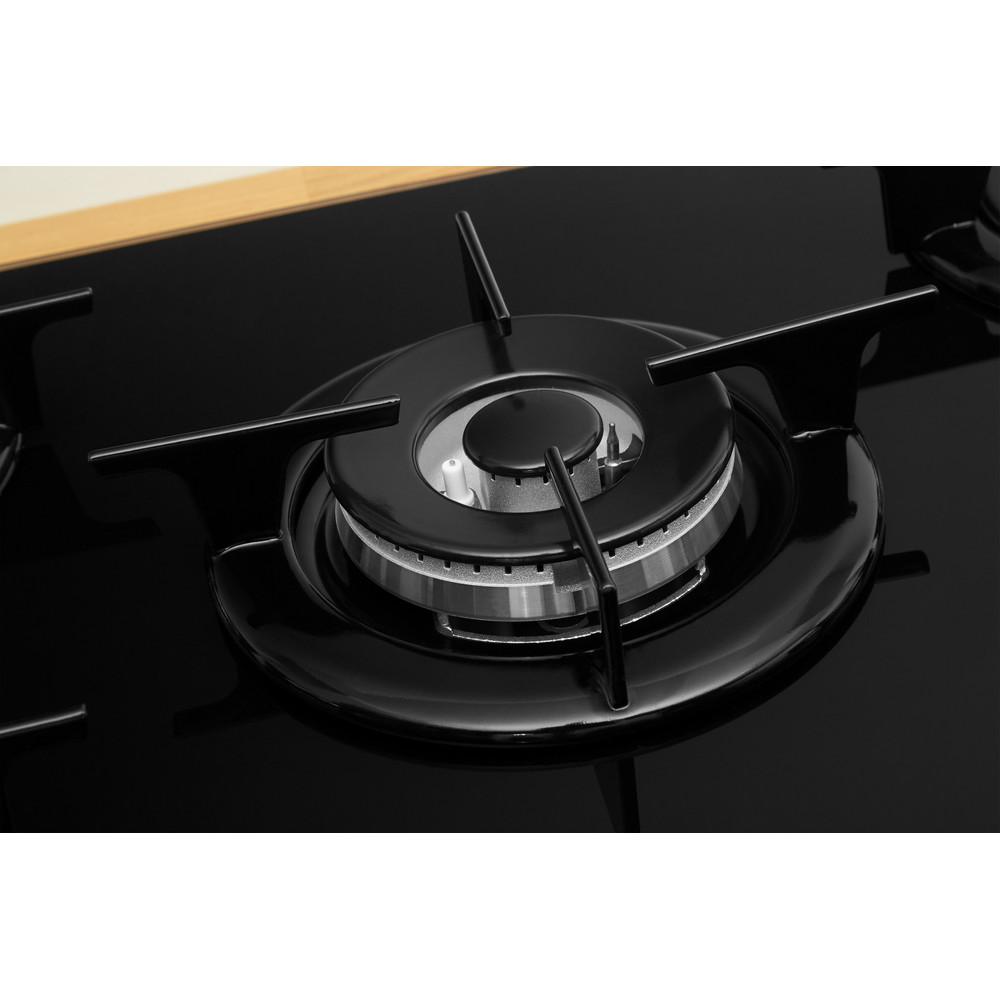 Indesit Piano cottura PR 752 W/I(BK) Nero GAS Heating_Element