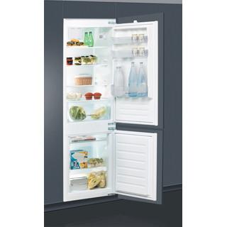 Indesit Combinazione Frigorifero/Congelatore Da incasso B 18 A1 D V E/I 1 Bianco 2 porte Perspective open