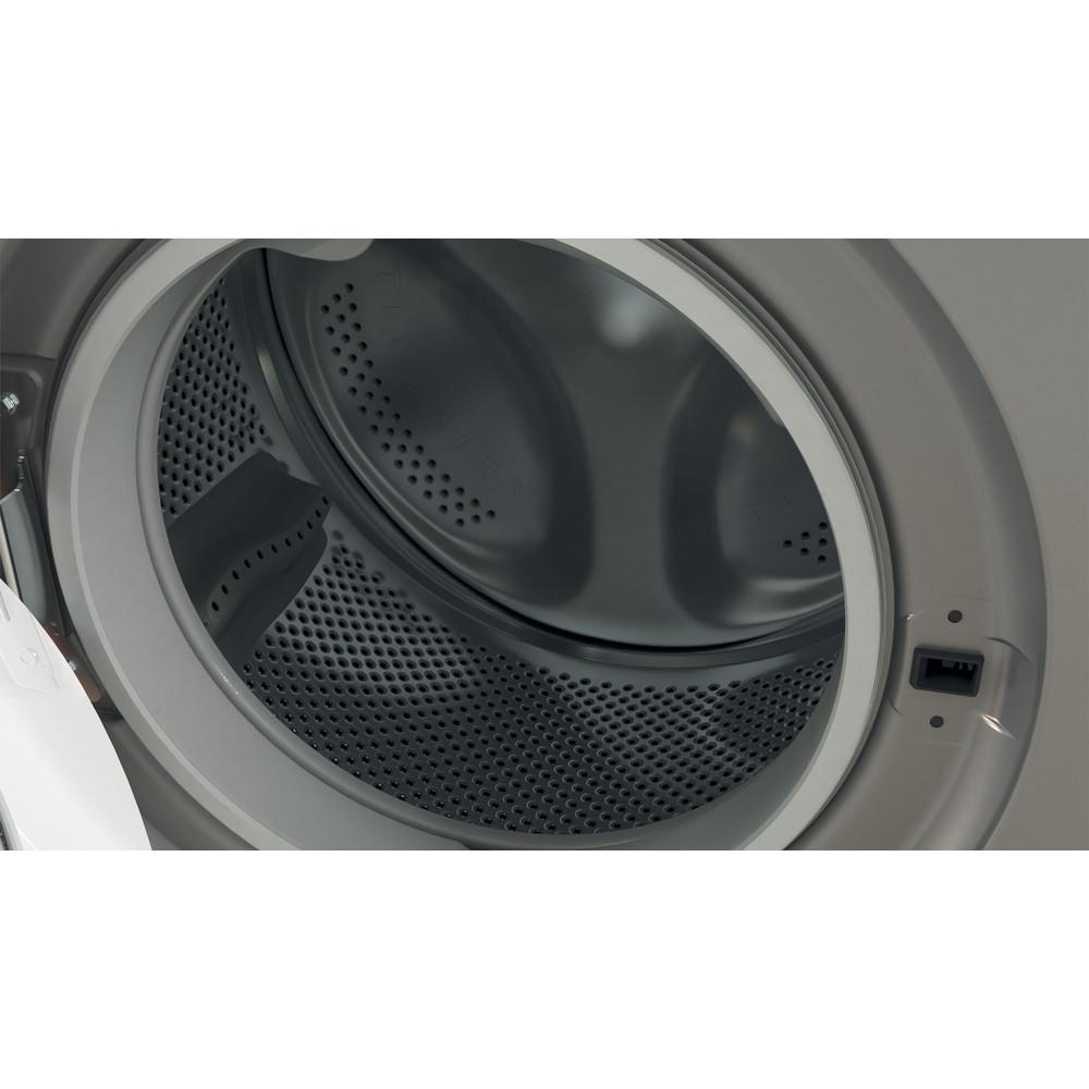 Indesit Washer dryer Free-standing IWDD 75145 S UK N Silver Front loader Drum