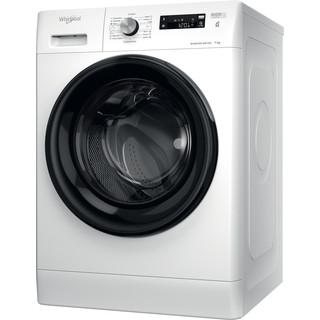 Whirlpool Perilica za rublje Samostojeći FFS 7238 B EE Bijela Prednje punjenje D Perspective