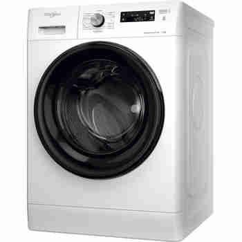 Whirlpool Maşină de spălat rufe Independent FFS 7238 B EE Alb Încărcare frontală D Perspective