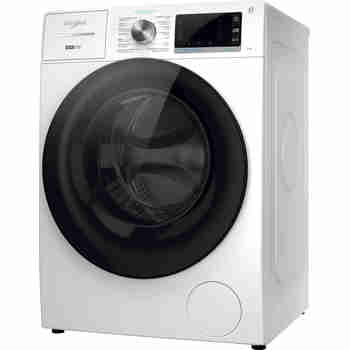 Whirlpool Wasmachine Vrijstaand W8 W946WB BE Wit Voorlader A Perspective