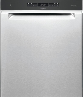 Whirlpool-opvaskemaskine: inox-farve, fuld størrelse - WUO 3T333 PF X