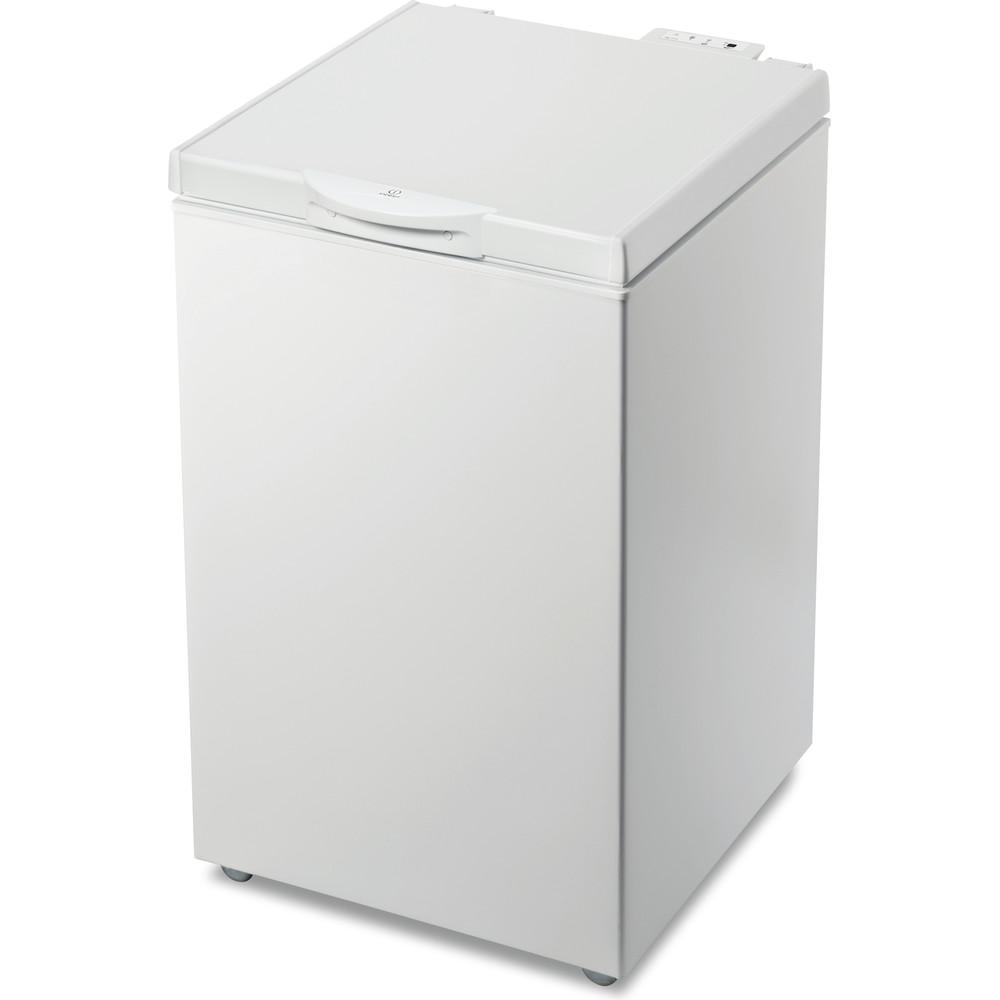 Indesit Congelatore A libera installazione OS 1A 140 H Bianco Perspective