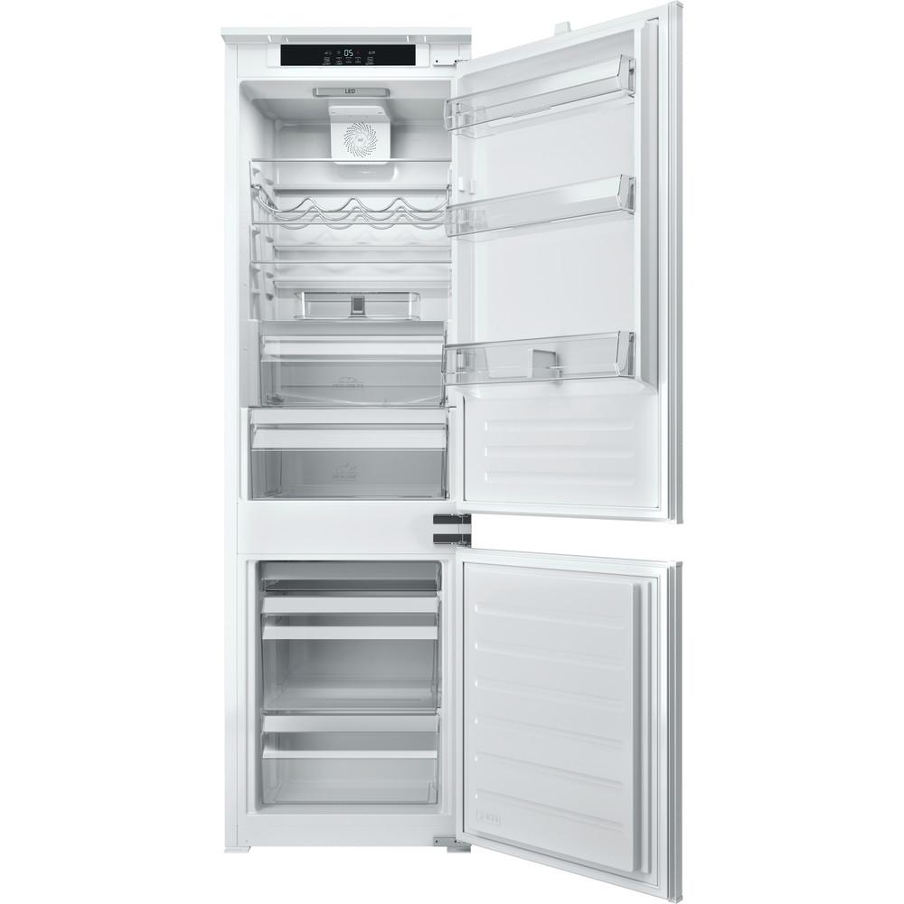 Hotpoint_Ariston Combinazione Frigorifero/Congelatore Da incasso BCB 7030 E C O31 Bianco 2 porte Frontal open