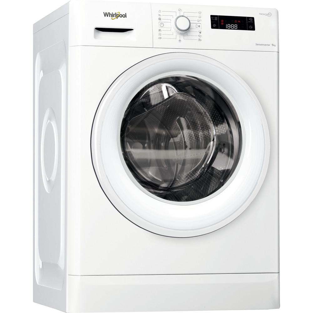 Whirlpool frontmatad tvättmaskin: 9 kg - FWF91438W EU