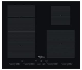 Placa de indução e vitrocerâmica da Whirlpool - SMC 604 F/NE