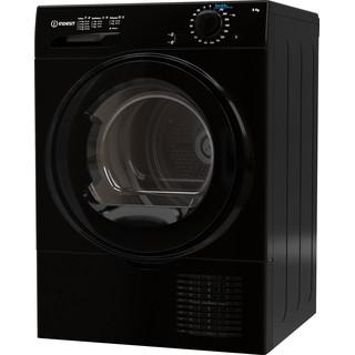 Indesit Dryer I2 D81B UK Black Perspective