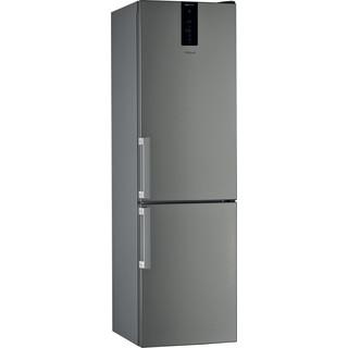 Whirlpool Kombinētais ledusskapis/saldētava Brīvi stāvošs W9 931D IX H Nerūsējošā tērauda 2 doors Perspective