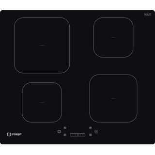 Indesit Table de cuisson IS 83Q60 NE Noir Induction vitroceramic Frontal