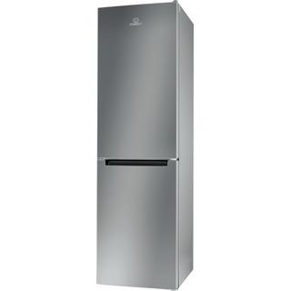 Indesit Combinación de frigorífico / congelador Libre instalación XI9 T2I X Inox 2 doors Perspective