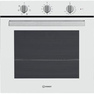 color blanco: horno eléctrico de encastre Indesit