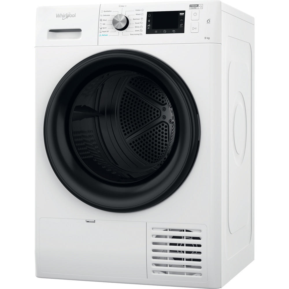 Whirlpool värmepumpstumlare: fristående, 9 kg - FFT M22 9X2B EE