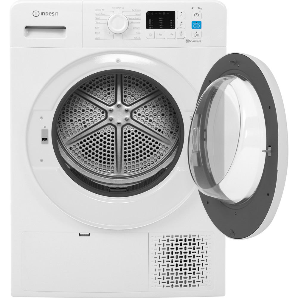 Indesit Dryer YT M10 71 R UK White Frontal open