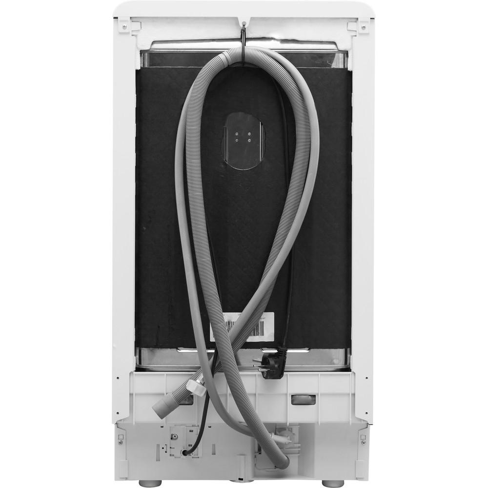 Indesit Посудомоечная машина Отдельностоящий DSCFE 1B10 RU Отдельностоящий A Back / Lateral