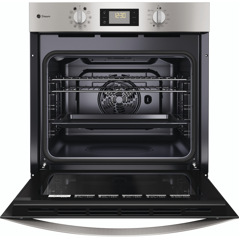 Indesit OVEN Built-in KFWS 3844 H IX UK Electric A+ Frontal open