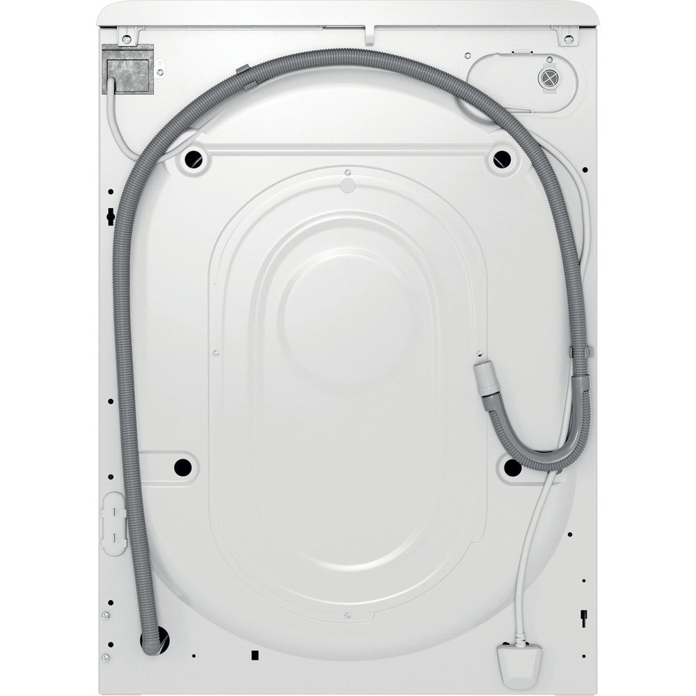 Indesit Пральна машина Соло OMTWE 71483 W EU Білий Front loader A+++ Back / Lateral