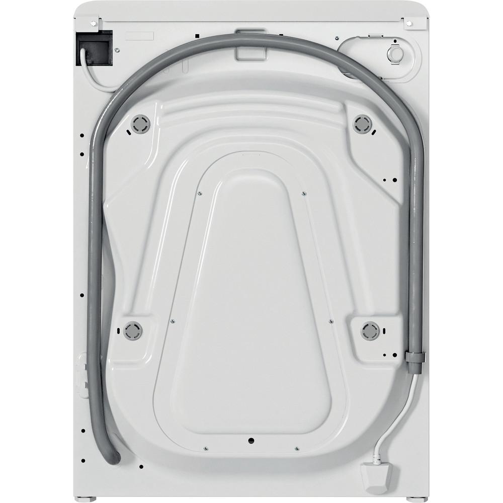 Indesit Πλυντήριο ρούχων Ελεύθερο BWE 81284X W EE N Λευκό Front loader C Back / Lateral