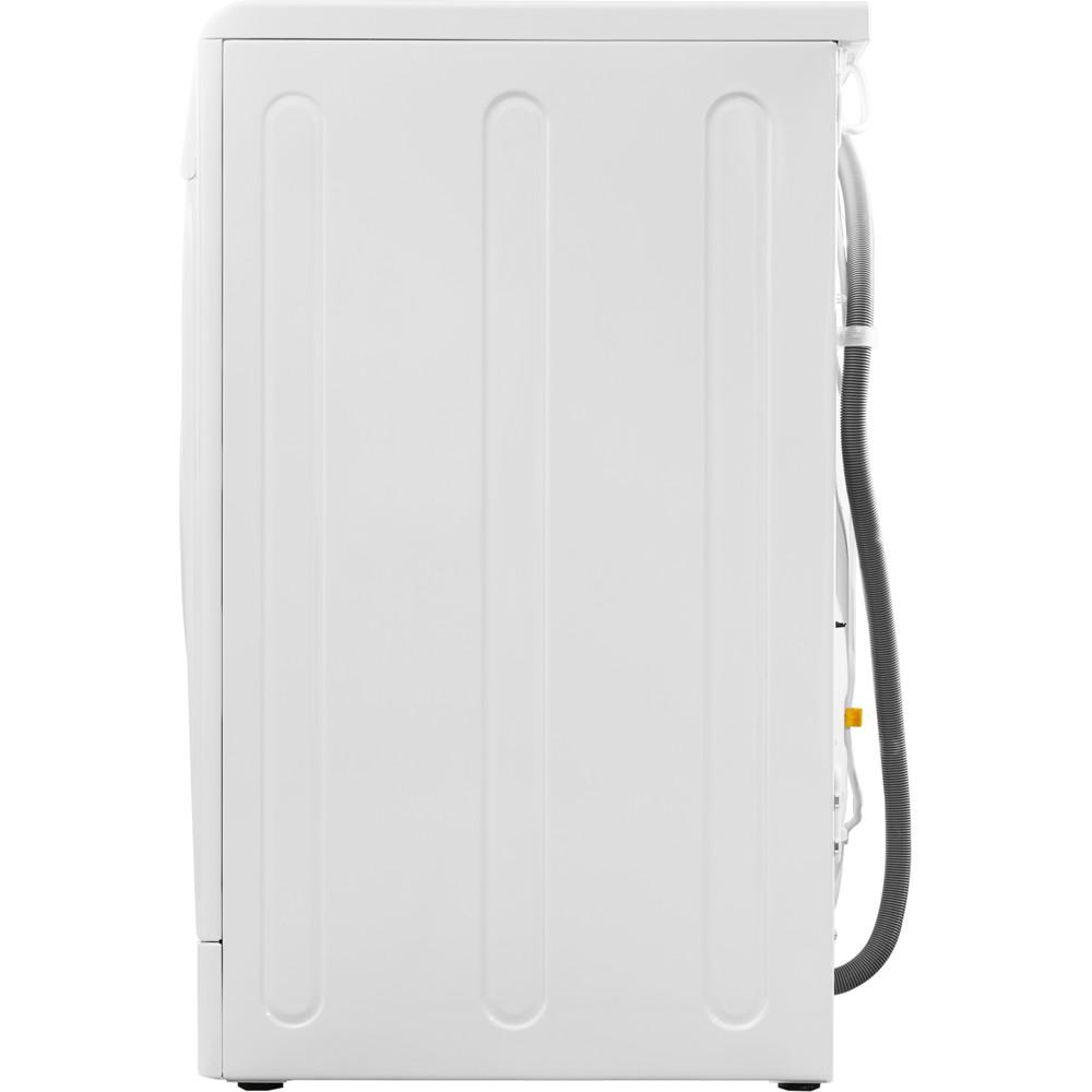 Indesit Прально-сушильна машина Соло IWDE 7105 B (EU) Білий Front loader Back / Lateral