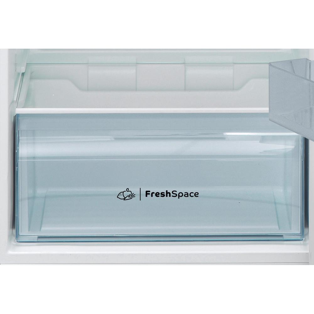Indesit Combinazione Frigorifero/Congelatore A libera installazione I55TM 4120 W Bianco 2 porte Drawer