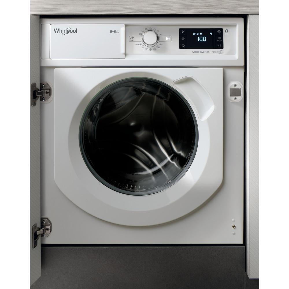 Lavasecadora integrable Whirlpool: 8kg - BI WDWG 861484 EU