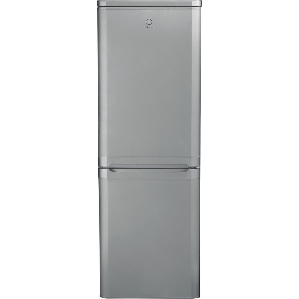 Indesit Fridge-Freezer Combination Free-standing IBD 5515 S 1 Silver 2 doors Frontal