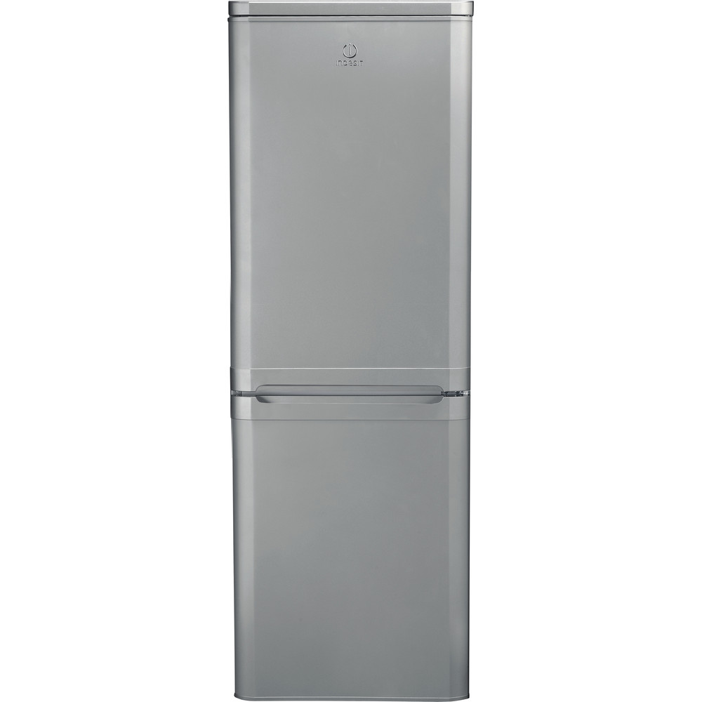 Indesit Fridge Freezer Free-standing IBD 5515 S 1 Silver 2 doors Frontal