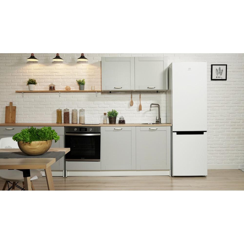 Indesit Холодильник с морозильной камерой Отдельностоящий DSN 20 Белый 2 doors Lifestyle frontal