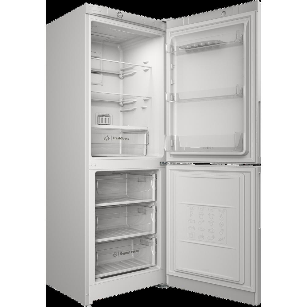 Indesit Холодильник с морозильной камерой Отдельностоящий ITR 4160 W Белый 2 doors Perspective open