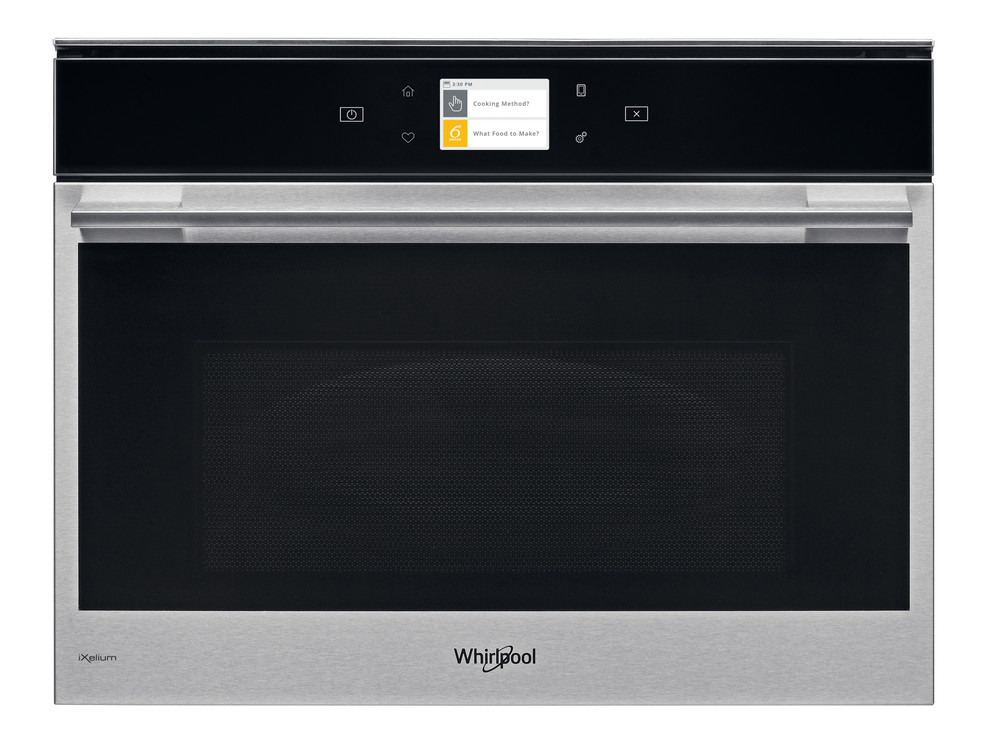 Whirlpool Four micro-ondes Encastrable W9 MW261 IXL Acier inoxydable Electronique 40 Micro-ondes Combiné 900 Frontal