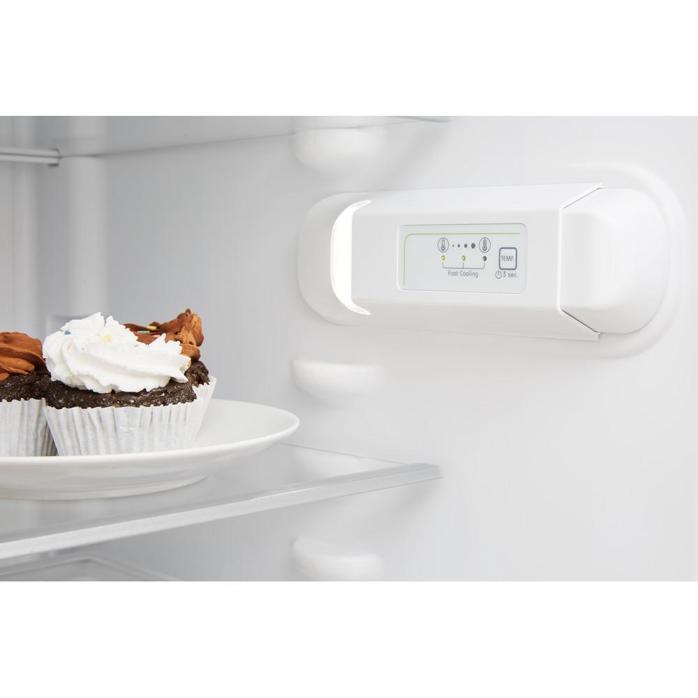 Indesit Холодильник з нижньою морозильною камерою. Соло XIT8 T2E X Optic Inox 2 двері Lifestyle control panel