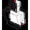 Whirlpool Gartraukis Įmontuojamas WHVS 93F LT BSS Juoda Wall-mounted Elektroninis Frontal