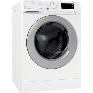 Indesit Mašina za pranje i sušenje veša Samostojeći BDE 761483X WS EE N Bijela Front loader Perspective