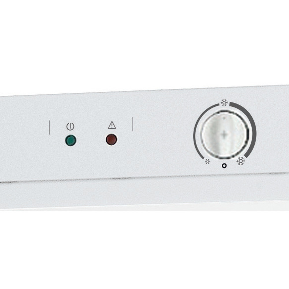 Indesit Congelatore A libera installazione UI4 1 W.1 Bianchi Control panel