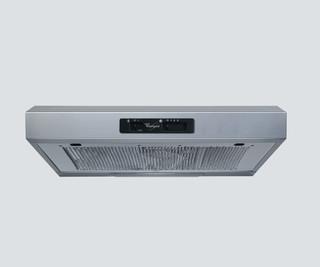 Whirlpool wall mounted cooker hood - WSLK 65 LS X