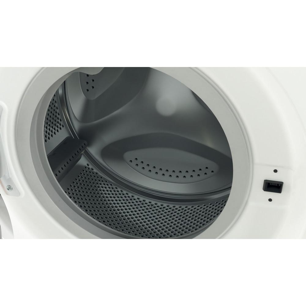 Indesit Washing machine Free-standing BWSC 61251 XW UK N White Front loader F Drum