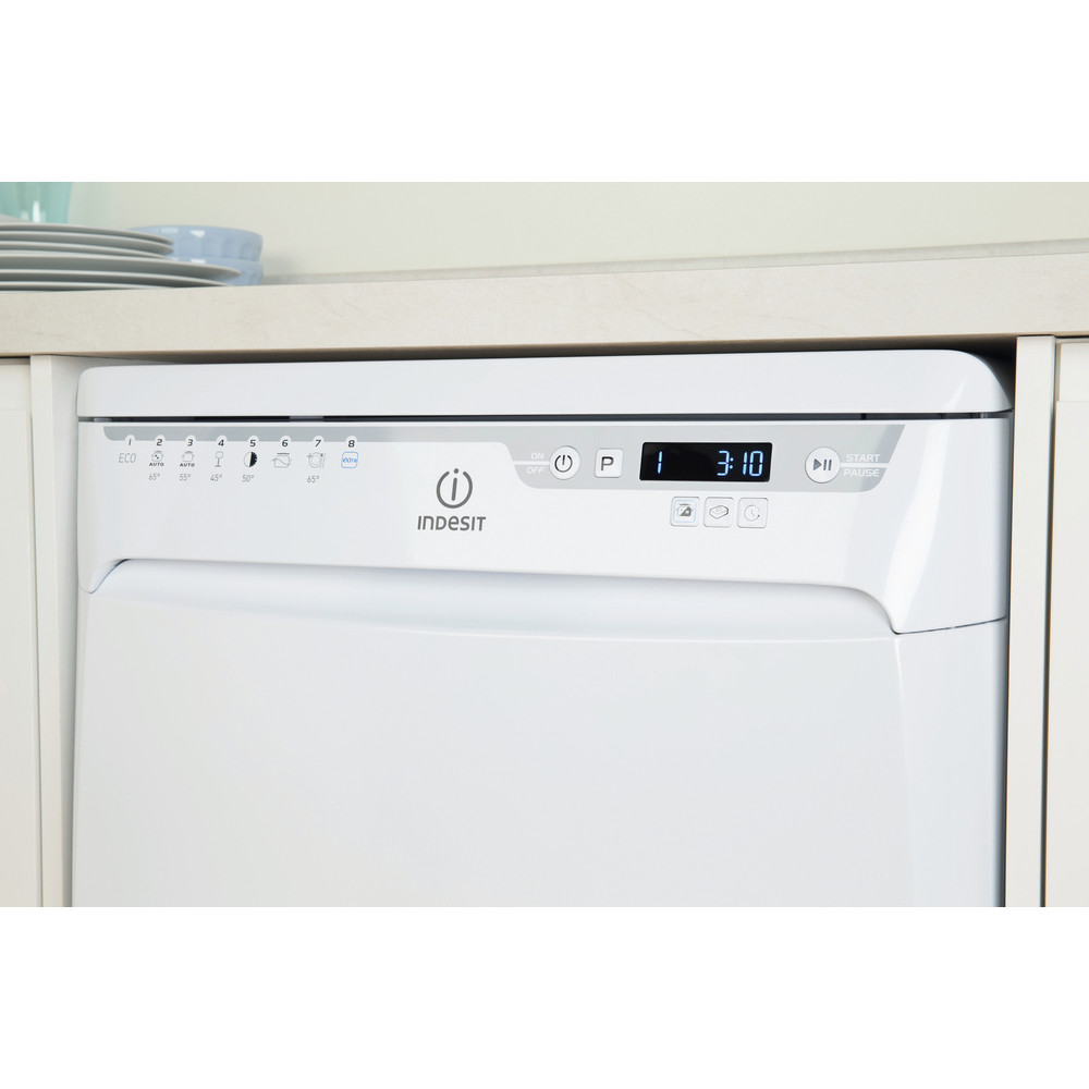 Indesit Dishwasher Free-standing DFP 58T96 Z UK Free-standing A Lifestyle control panel