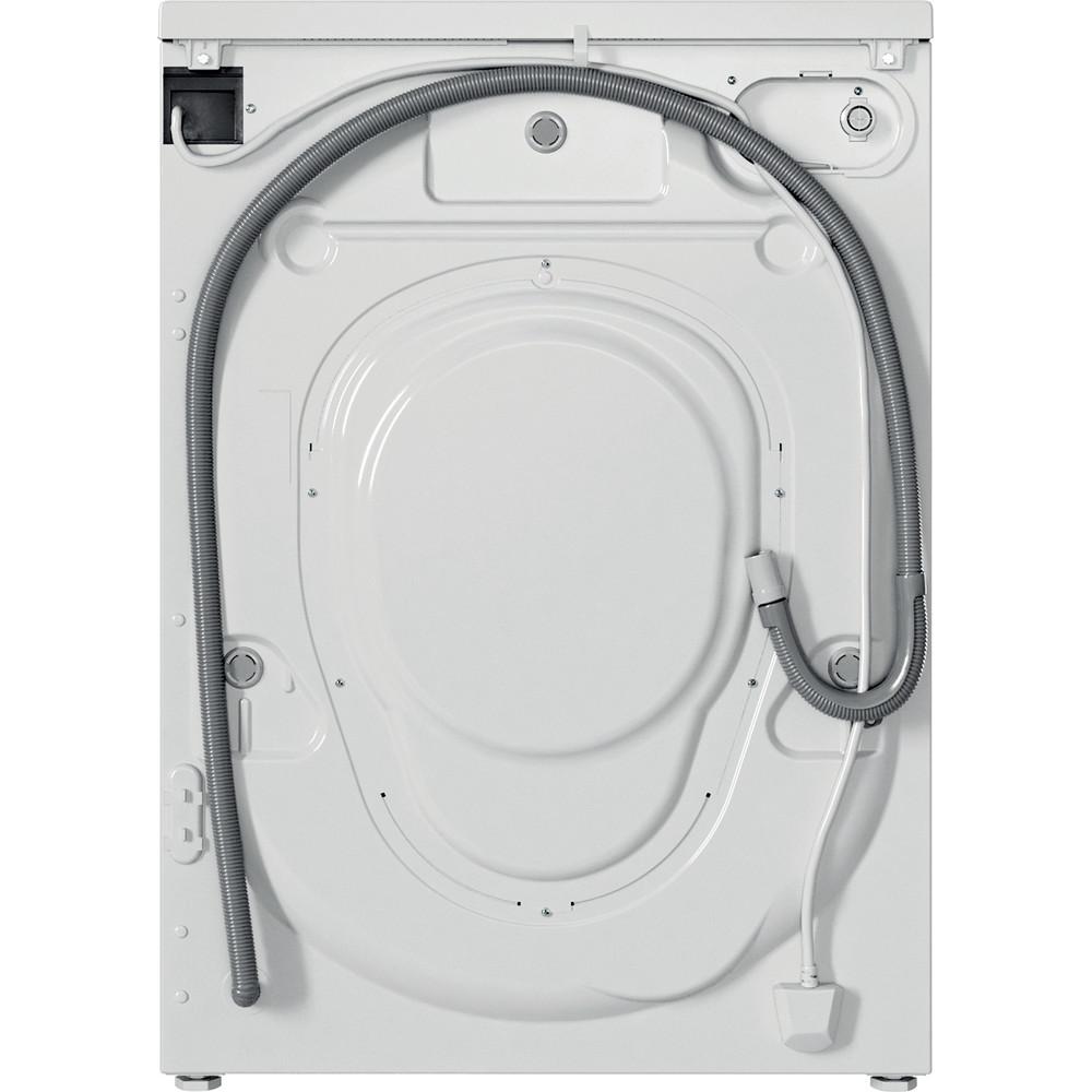 Indesit Waschmaschine Freistehend EWD 61051E W EU N Weiß Frontlader F Back / Lateral